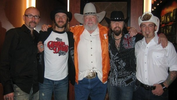 Jason McCoy and Charlie Daniels
