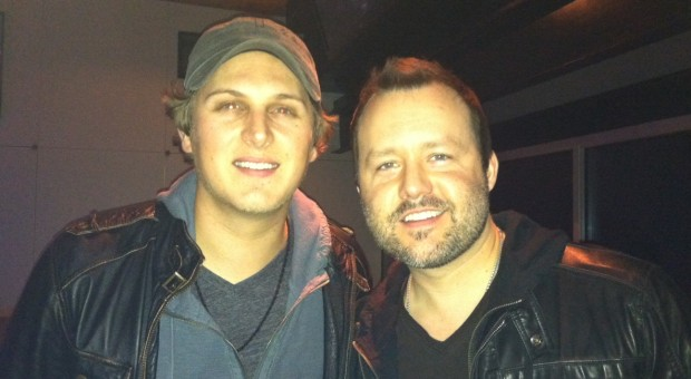 Jason Blaine and Deric Ruttan at an event in Nashville.