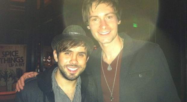 Sam Ellis (Hunter Hayes keyboardist) and Ryan Laird at a Nashville event.