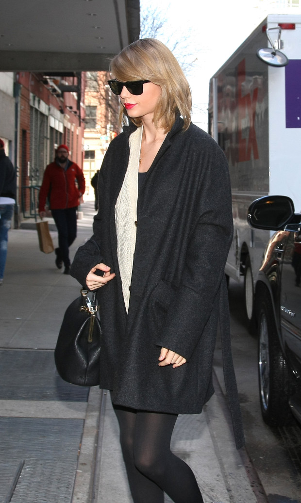Taylor Swift out in New York City.