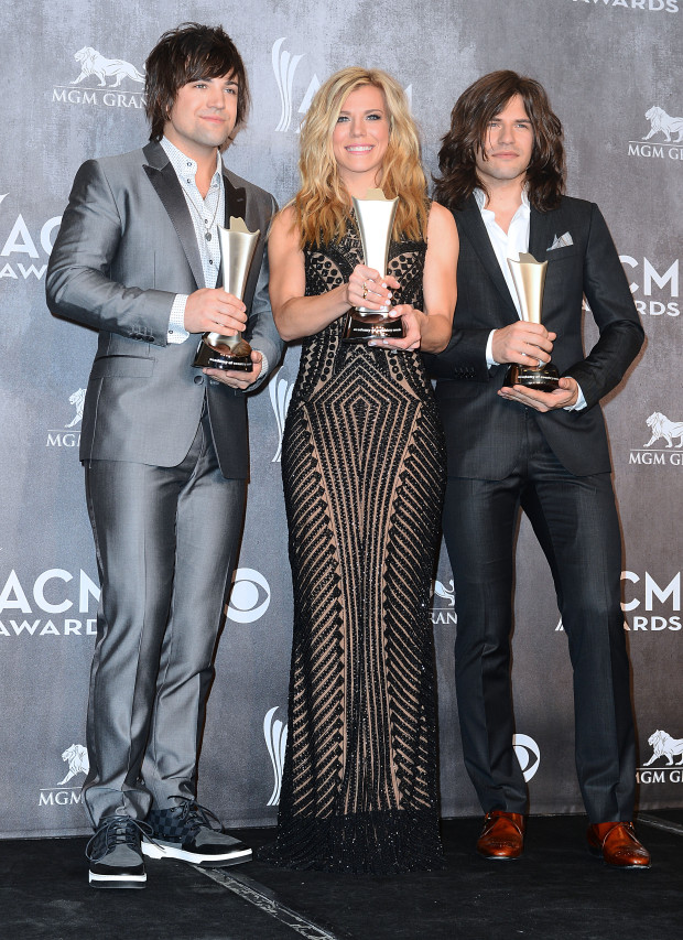 The Band Perry - 49th Annual ACM Press Room