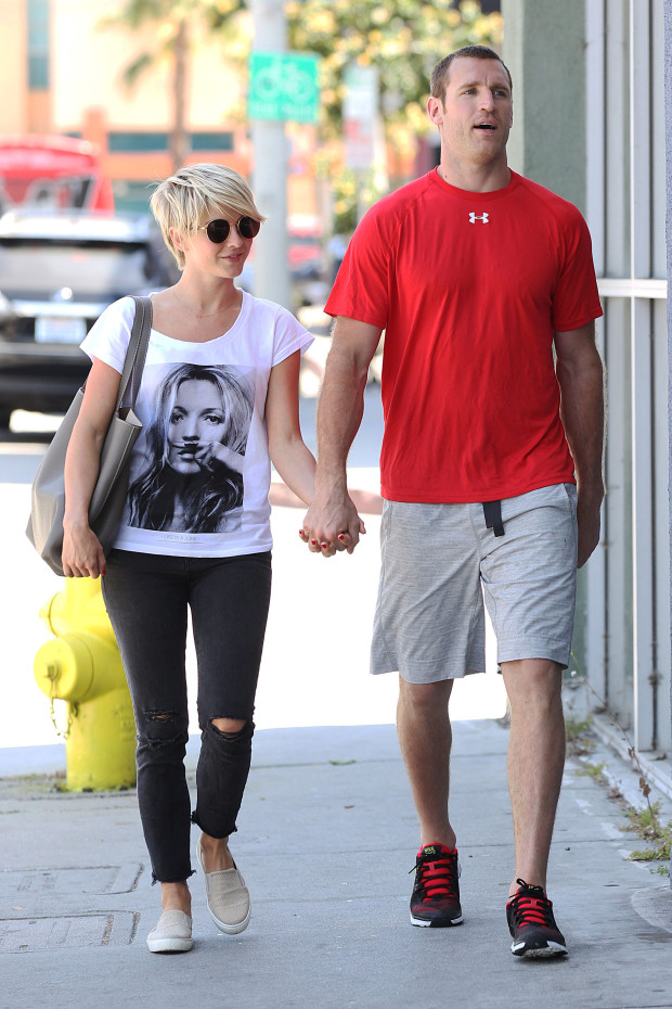 Julianne Hough and New Boyfriend