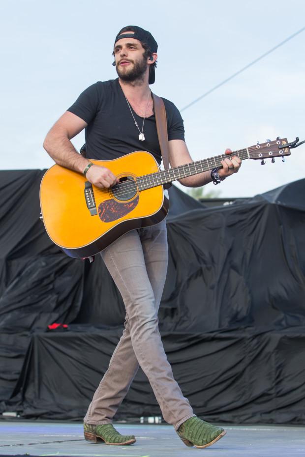Thomas Rhett performs at Stagecoach Festival