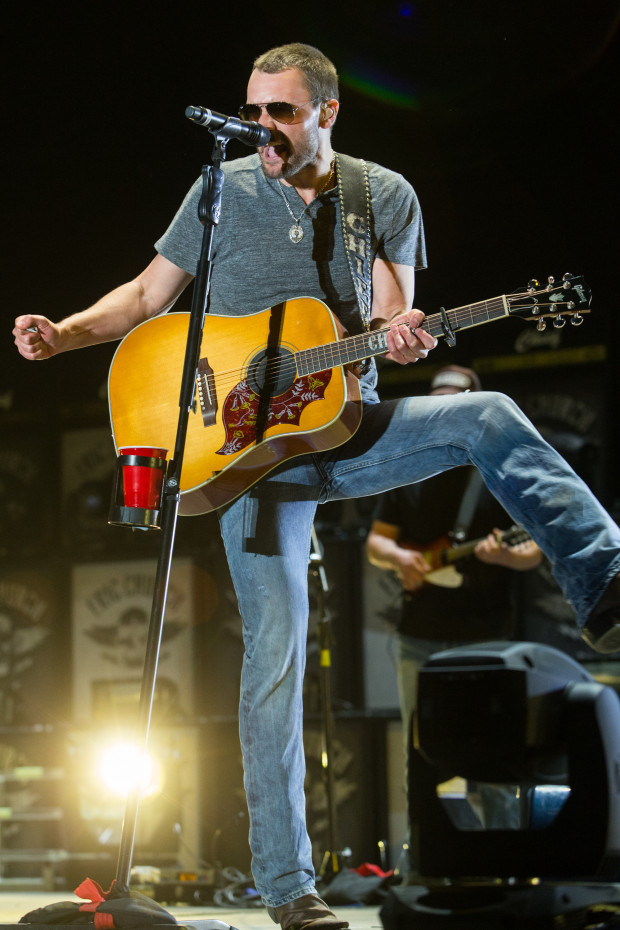 Eric Church performs at Stagecoach Festival