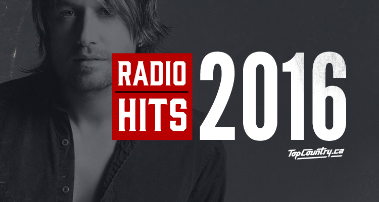 top country radio hits 2016