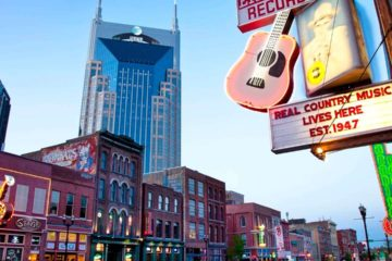 Nashville, Tennessee - Top Country American Cities to visit