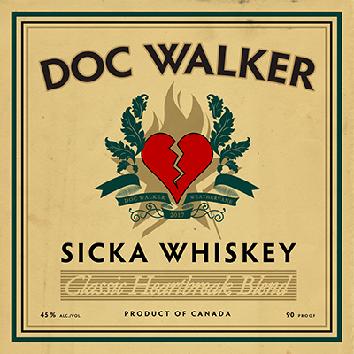 Doc wAlker Sicka Whiskey