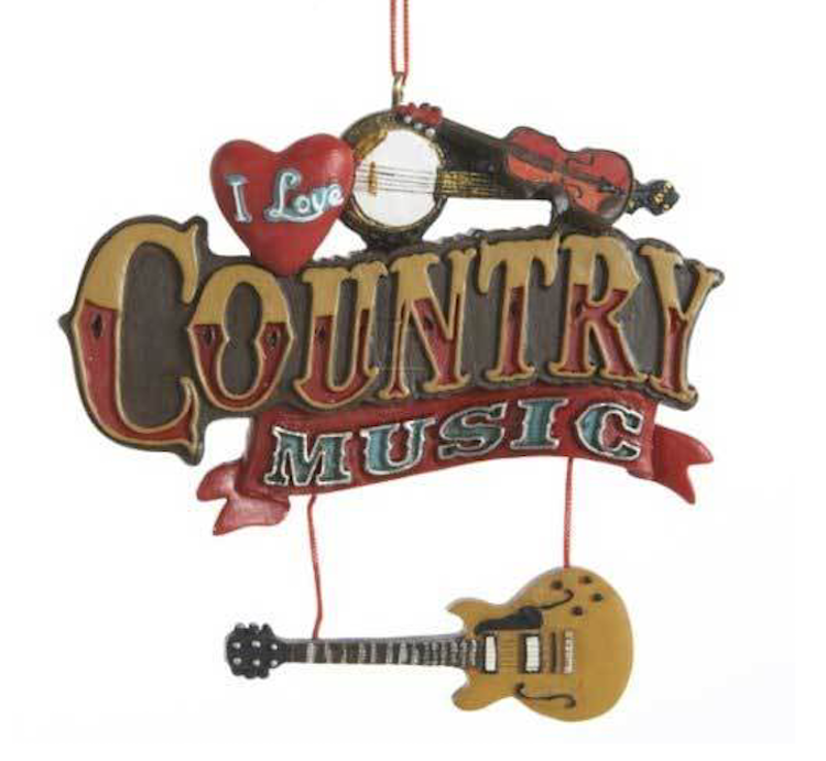 country music christmas decorations