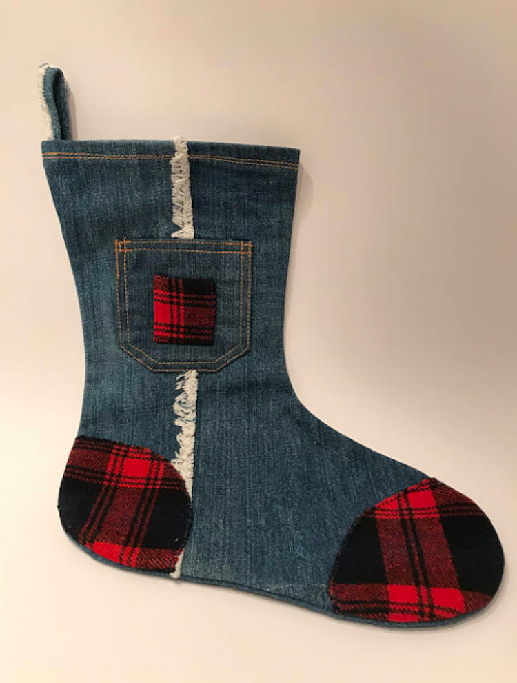 country music themed stockings