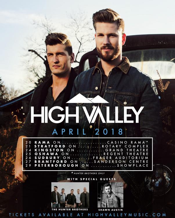 High Valley Ontario Tour