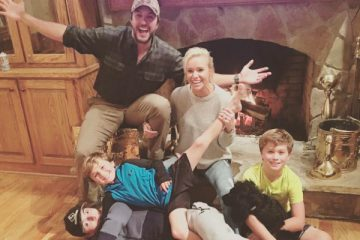 Luke Bryan family - country stars children