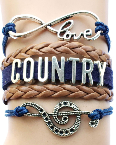 Country Music Bracelet - Mother's Day Gifts