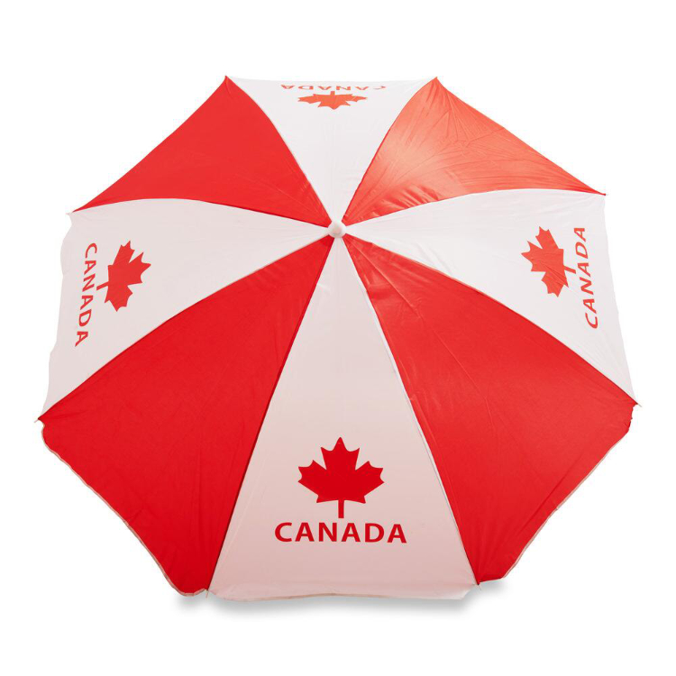 Canada Day Beach Umbrella