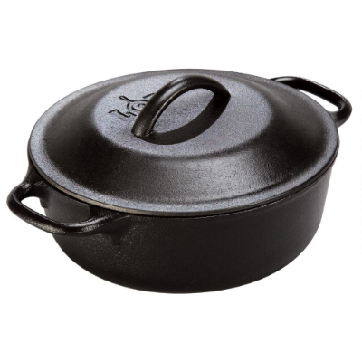 Cast Iron Serving Pot